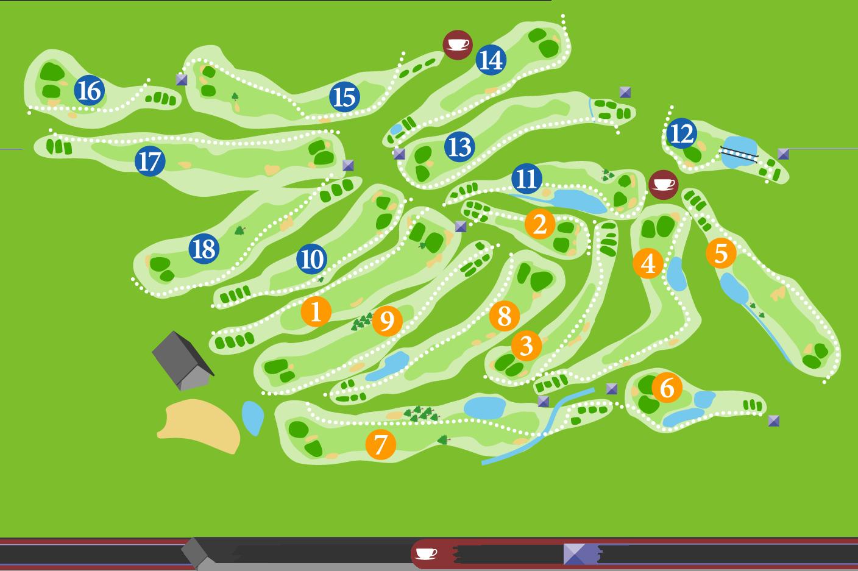 オレンジシガコースマップ